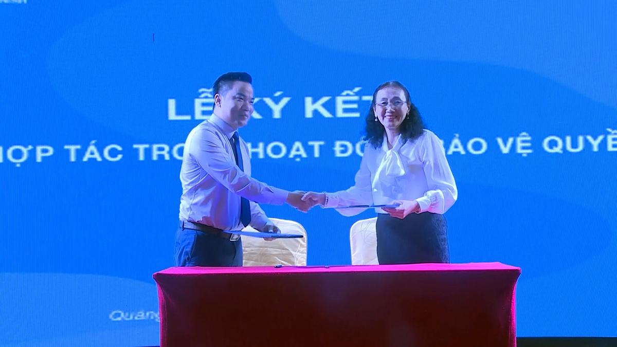 Liên Chi hội Bảo vệ Quyền trẻ em tỉnh Quảng Ninh và Công ty Đất Xanh Duyên Hải ký hợp tác bảo vệ quyền trẻ em